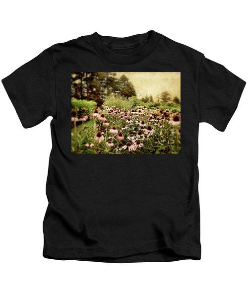 Echinacea Garden Kids T-Shirt