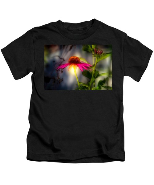 Echinacea Sunrise Kids T-Shirt