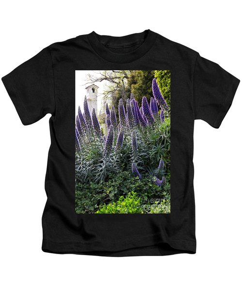 Echium And Tower Kids T-Shirt