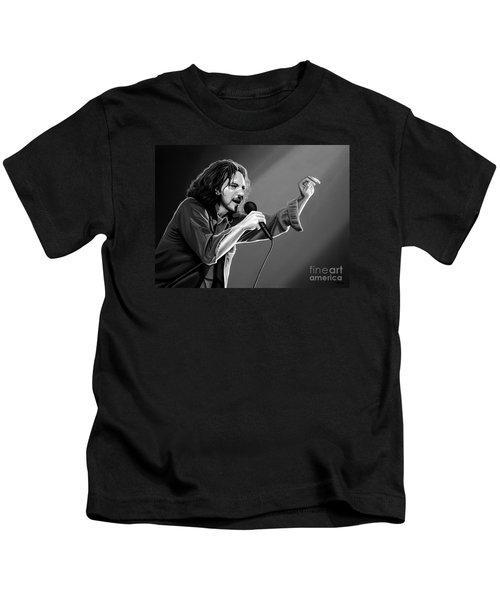 Eddie Vedder  Kids T-Shirt by Meijering Manupix