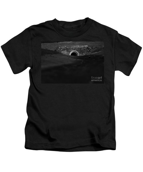 Eerie Tunnel Kids T-Shirt