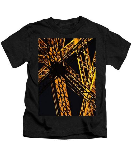 Eiffel Tower Detail Kids T-Shirt