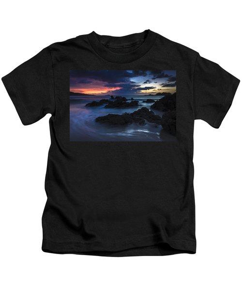 El Villar Beach Galicia Spain Kids T-Shirt