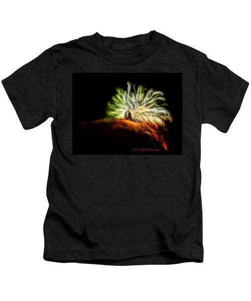 Electric Caterpillar Kids T-Shirt