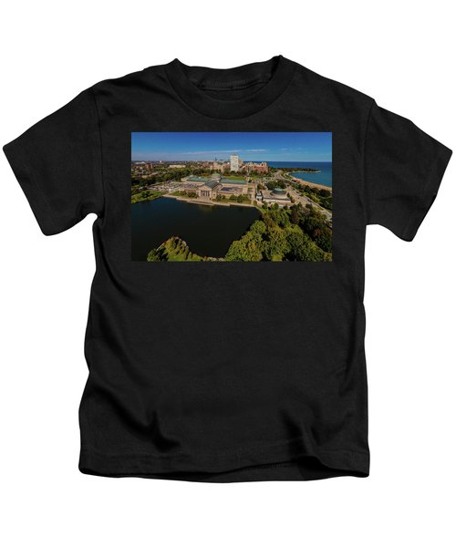 Elevated View Of The Museum Of Science Kids T-Shirt
