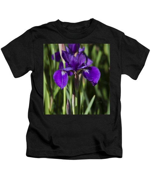Eloquent Iris Kids T-Shirt