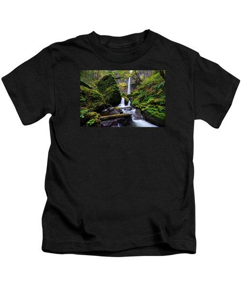 Elowah Falls Kids T-Shirt