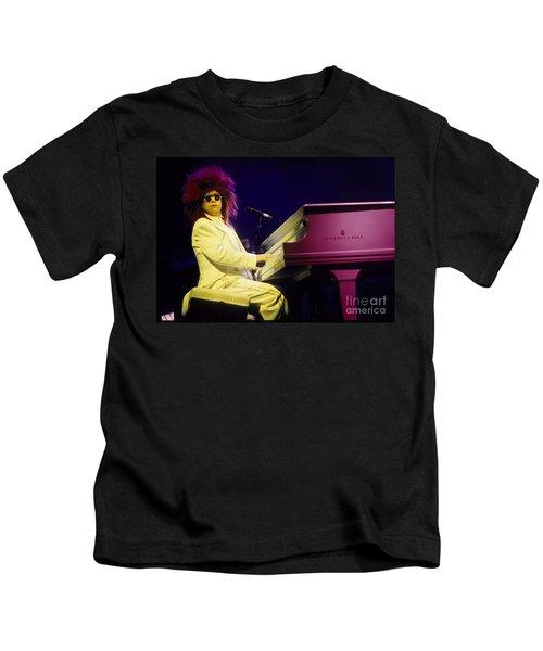 Elton Kids T-Shirt by David Plastik