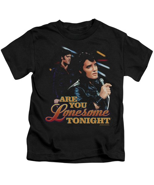 Elvis - Are You Lonesome Kids T-Shirt