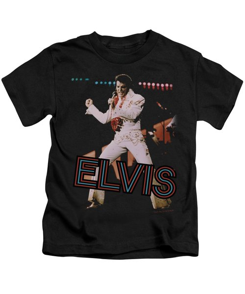 Elvis - Hit The Lights Kids T-Shirt