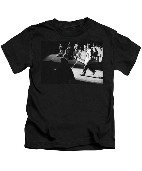 Elvis Presley With An Orchestra 1956 Kids T-Shirt