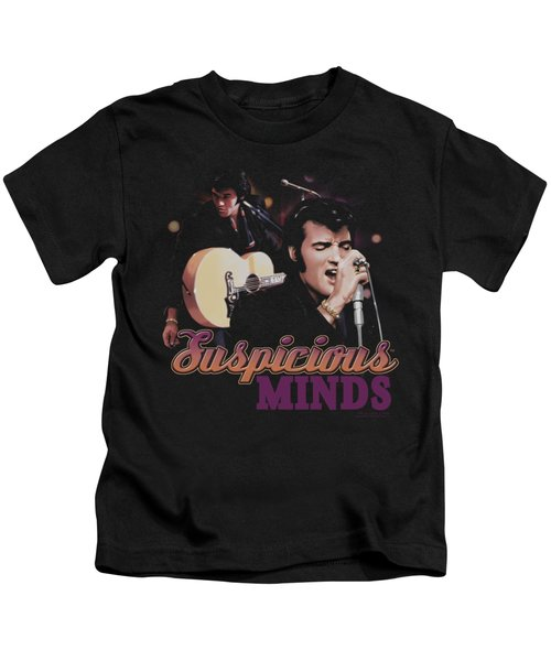 Elvis - Suspicious Minds Kids T-Shirt