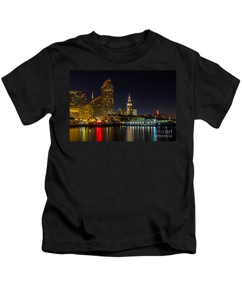 Embarcadero Blue Hour Kids T-Shirt