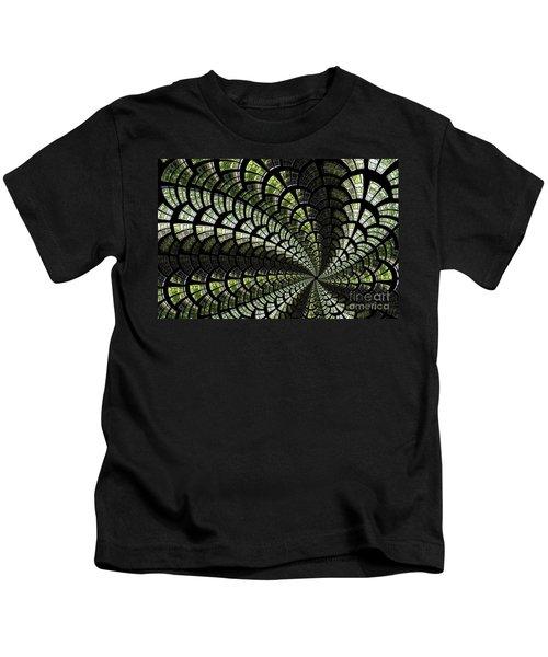 Emerald Whirl. Kids T-Shirt