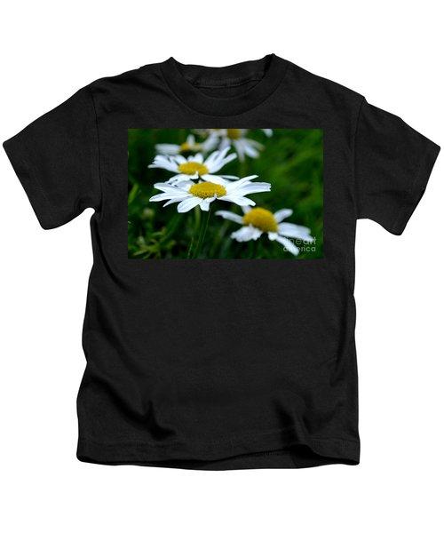 English Daisies Kids T-Shirt