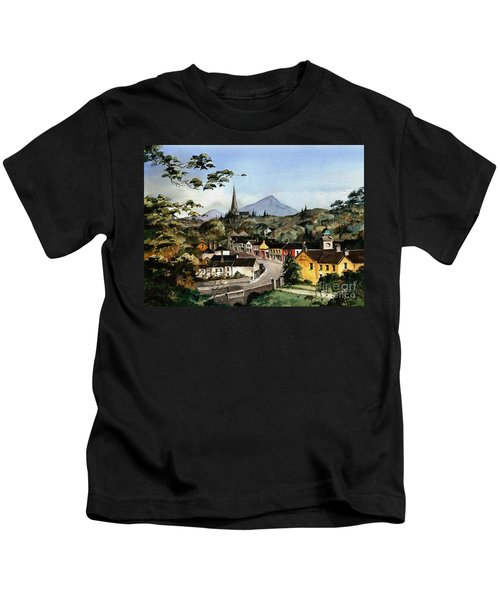 Enniskerry Panorama Wicklow Kids T-Shirt