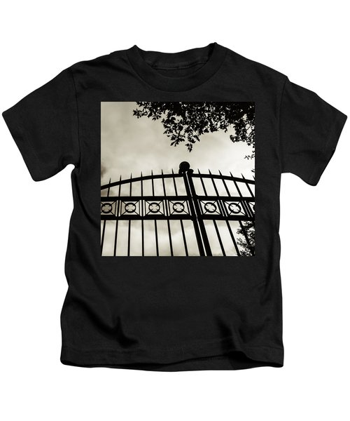 Entrances To Exits - Gates Kids T-Shirt