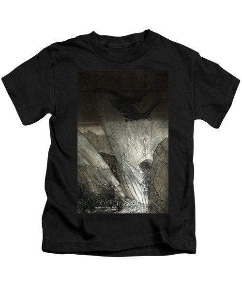 Erda Bids Thee Beware, Illustration Kids T-Shirt