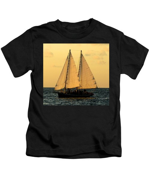 More Sails In Key West Kids T-Shirt