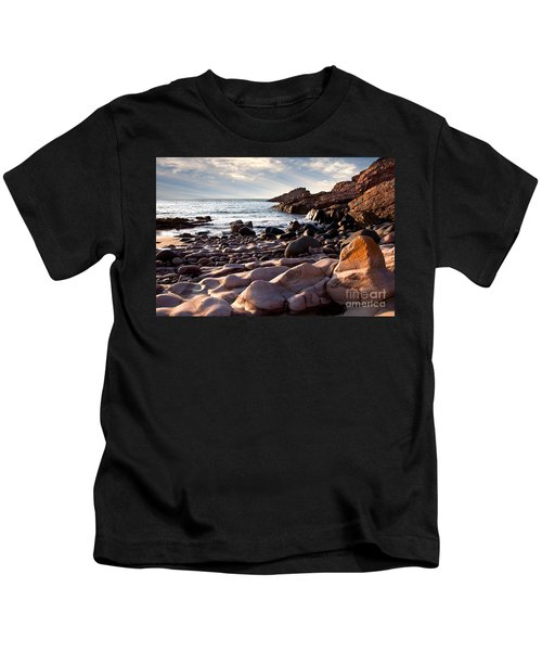 Evening At The Sea Kids T-Shirt