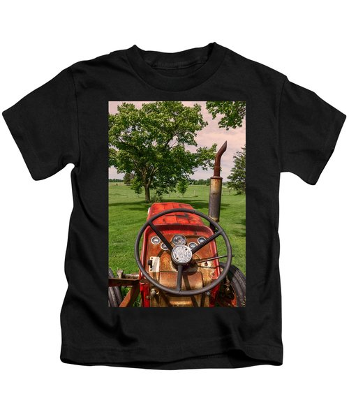 Ever Drive A Tractor Kids T-Shirt