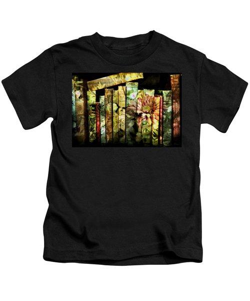 Evie's Book Garden Kids T-Shirt