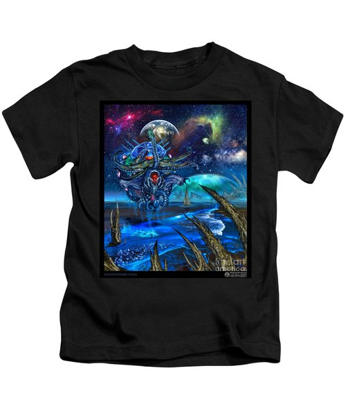 Evolutionary Space Kids T-Shirt