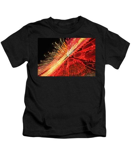 Exploding Neon Kids T-Shirt
