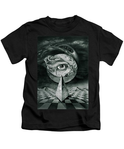 Eye Of The Dark Star Kids T-Shirt