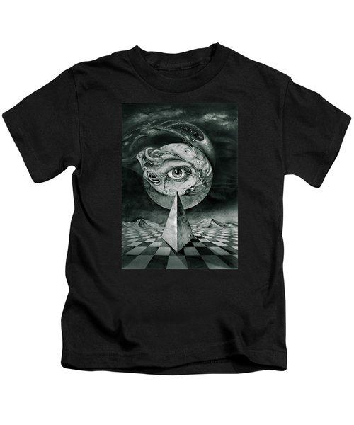 Eye Of The Dark Star Kids T-Shirt
