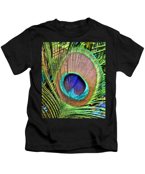 Eye Of The Feather Kids T-Shirt