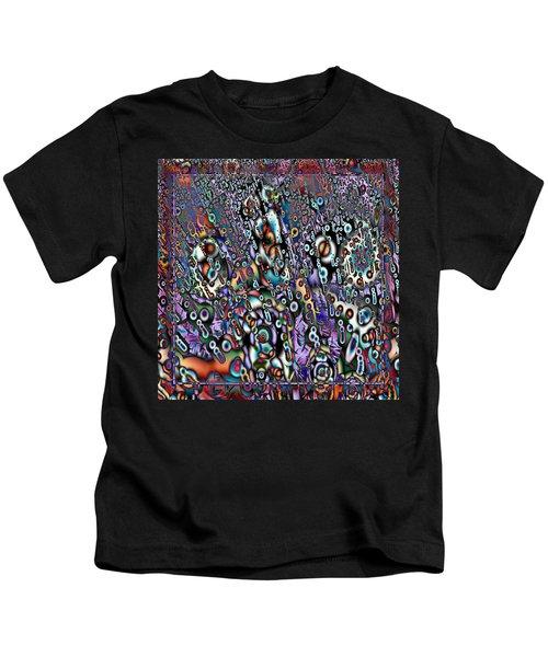 Eyeballs And Eight Balls Kids T-Shirt