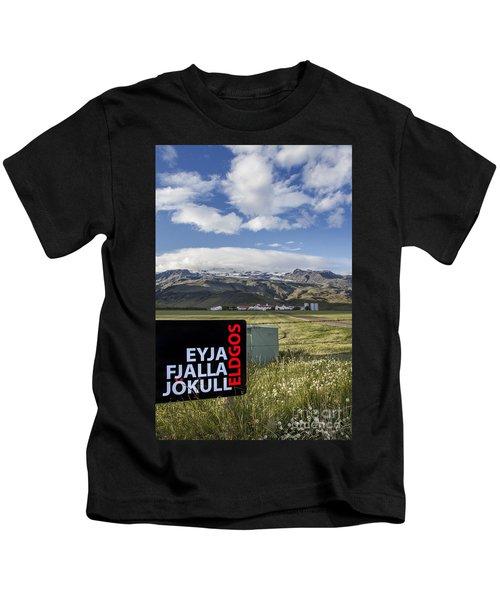 Eyjafjallajokull Kids T-Shirt