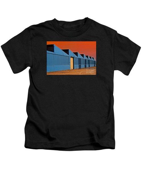 Factory Building Kids T-Shirt