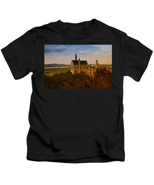 Fairy Tale Castle Kids T-Shirt