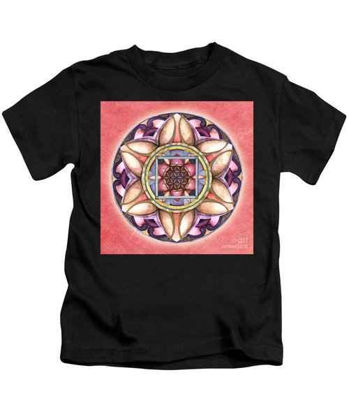 Faith Mandala Kids T-Shirt