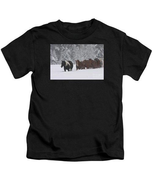 Faith Will Bring You Home Kids T-Shirt