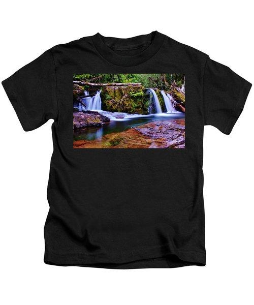 Fall Creek Oregon 3 Kids T-Shirt