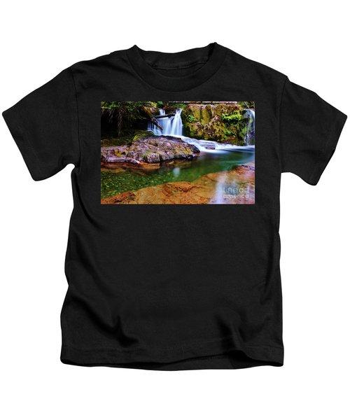 Fall Creek Oregon Kids T-Shirt