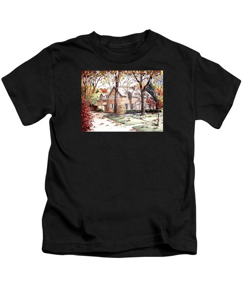 Fall Home Portriat Kids T-Shirt