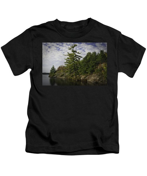 Fall In Northern Ontario Kids T-Shirt
