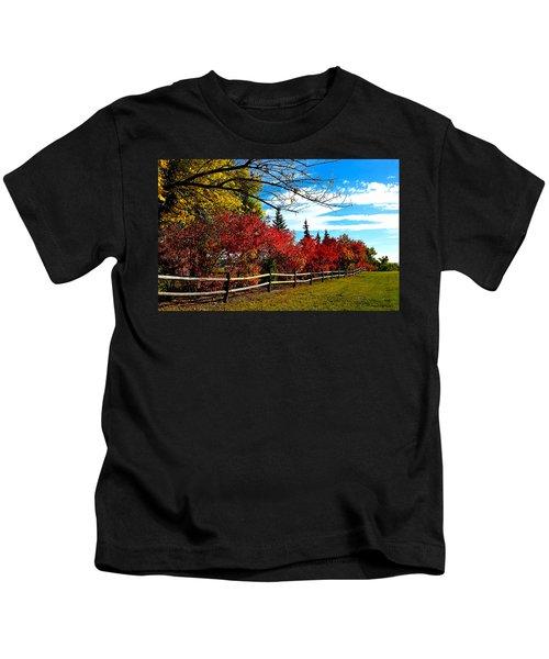 Fall Lineup Kids T-Shirt