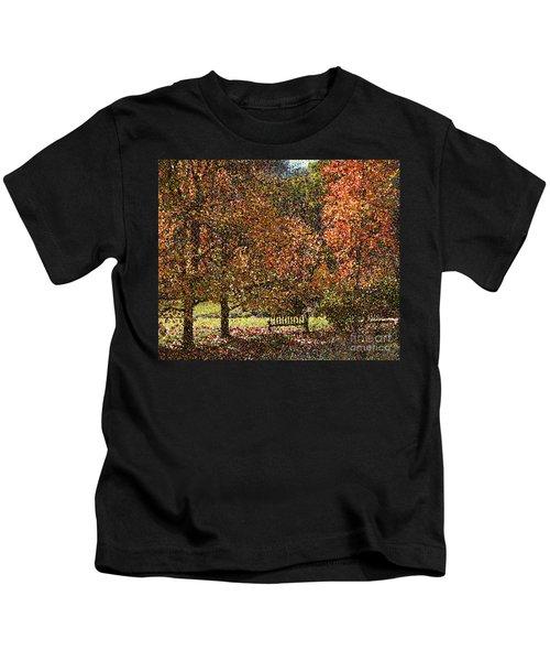 Fall Trees Kids T-Shirt