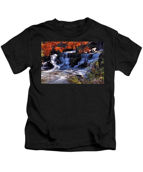 Falls In The Fall Kids T-Shirt