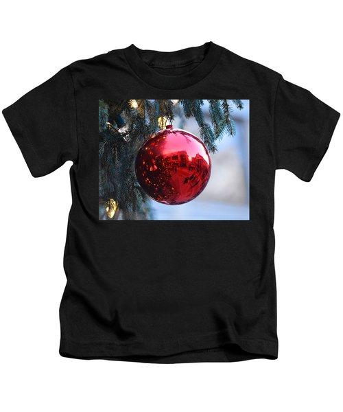 Faneuil Hall Christmas Tree Ornament Kids T-Shirt