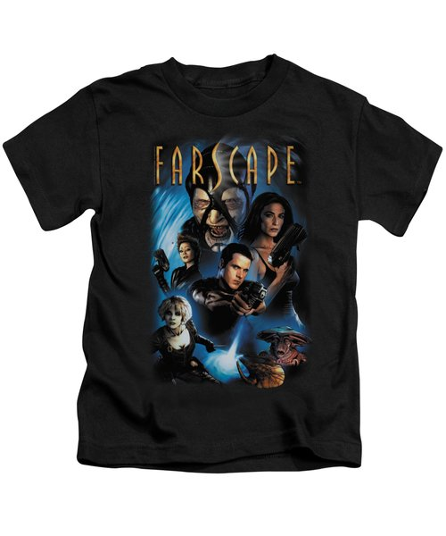 Farscape - Comic Cover Kids T-Shirt