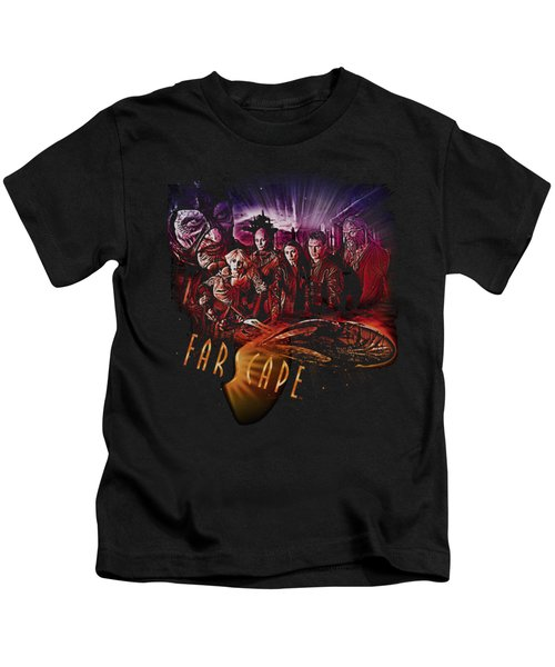 Farscape - Graphic Collage Kids T-Shirt