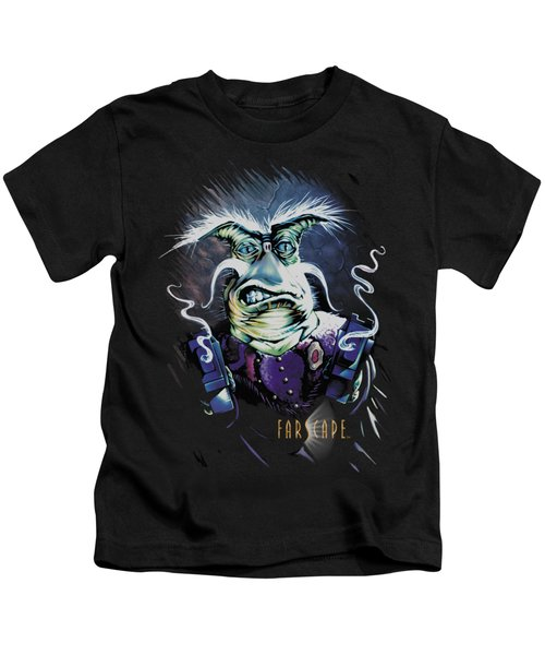 Farscape - Rygel Smoking Guns Kids T-Shirt