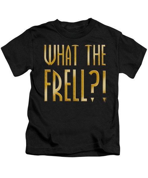 Farscape - What The Frell Kids T-Shirt