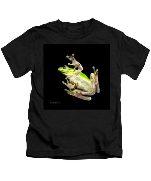 Feathered Frog Kids T-Shirt